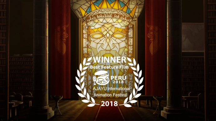 The Last Fiction won Ajayu International Animation Festival Award